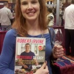 Anne with Robert Irvine's Book