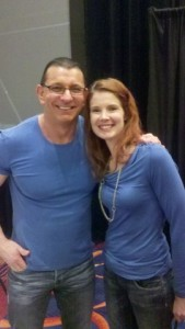 Anne with Robert Irvine